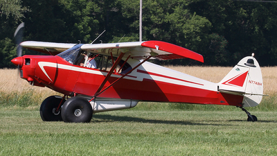 N7748H - Piper PA-12 Super Cruiser - Private