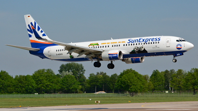 D-ASXG - Boeing 737-8CX - SunExpress Germany