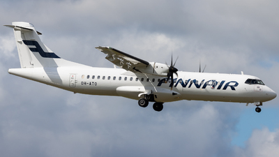 A picture of OHATO - ATR 72500 - Finnair - © Rickard Andersson