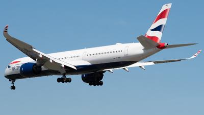A picture of GXWBA - Airbus A3501041 - British Airways - © Frankie A Said