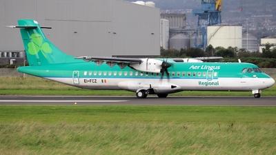 A picture of EIFCZ - ATR 72600 - Stobart Air - © Ethan Allen