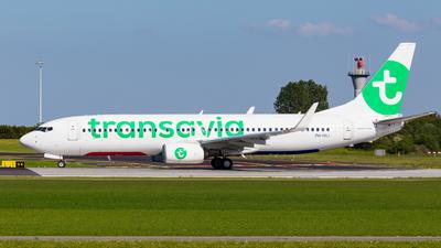 A picture of PHHSJ - Boeing 7378K2 - Transavia - © TiesRBC