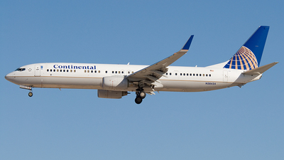 N38424 - Boeing 737-924ER - Continental Airlines