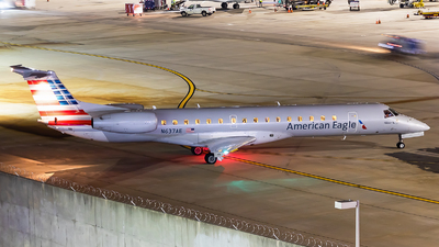 A picture of N637AE - Embraer ERJ145LR - American Airlines - © Maik Voigt