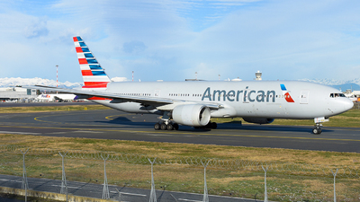 A picture of N755AN - Boeing 777223(ER) - American Airlines - © Luca Cesati