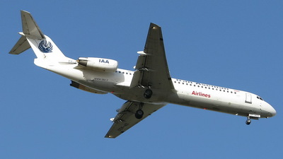 EP-ASO - Fokker 100 - Iran Aseman Airlines