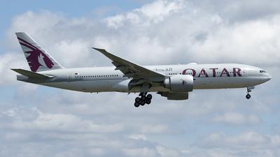 A picture of A7BBH - Boeing 7772DZ(LR) - Qatar Airways - © Matei Ioan Dascalu