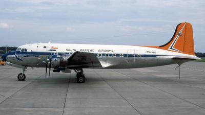 ZS-AUB - Douglas DC-4 - South African Airways Historic Flight