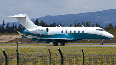 N368JM - Bombardier BD-100-1A10 Challenger 350 - Private