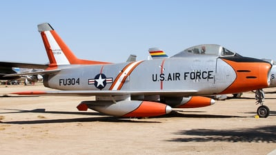53-1304 - North American F-86H Sabre - United States - US Air Force (USAF)