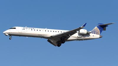 N522LR - Bombardier CRJ-701ER - United Express (Mesa Airlines)