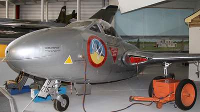 XE998 - De Havilland Vampire T.11 - United Kingdom - Royal Air Force (RAF)
