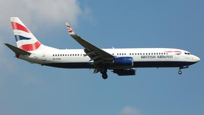 ZS-ZWS - Boeing 737-86N - British Airways (Comair)