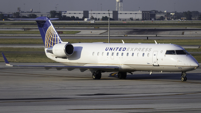 N870AS - Bombardier CRJ-200ER - United Express (SkyWest Airlines)