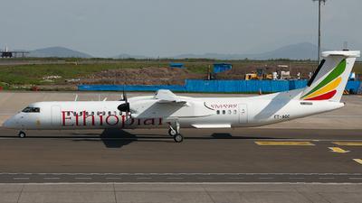 A picture of ETAQC - De Havilland Canada Dash 8400 - [4421] - © Thiago Corrêa Silva