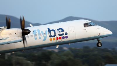 A picture of GECOJ - De Havilland Canada Dash 8400 - Flybe - © Lawrence Smith