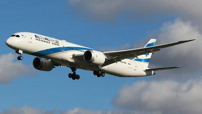 4X-EDC - Boeing 787-9 Dreamliner - El Al Israel Airlines