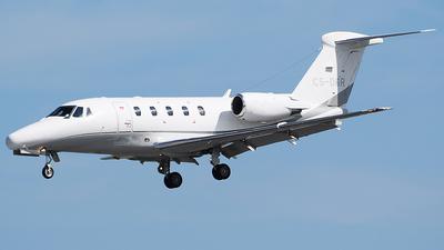 A picture of CSDGR - Cessna 650 Citation VII -  - © John Fitzpatrick