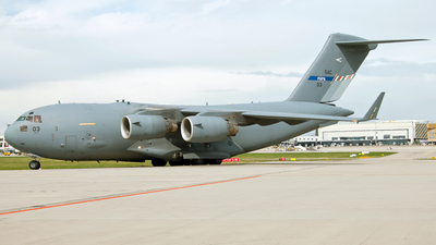 08-0003 - Boeing C-17A Globemaster III - NATO - Strategic Airlift Capability