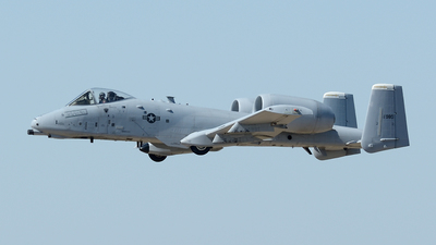 81-0980 - Fairchild A-10C Thunderbolt II - United States - US Air Force (USAF)