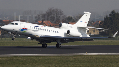 VP-CGS - Dassault Falcon 7X - VW Air Services
