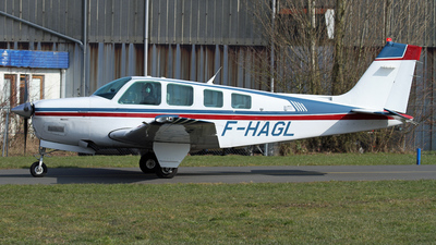 F-HAGL - Beechcraft A36 Bonanza - Private