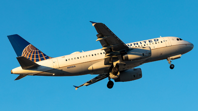 N899UA - Airbus A319-132 - United Airlines
