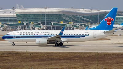 B-1367 - Boeing 737-81B - China Southern Airlines