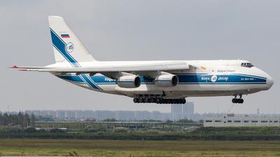 A picture of RA82043 - Antonov An124100 Ruslan - VolgaDnepr Airlines - © TasKforce404-HK416