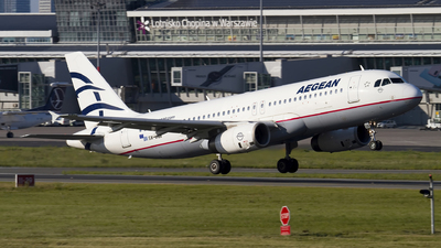 A picture of SXDGB - Airbus A320232 - Aegean Airlines - © Rafal Pruszkowski