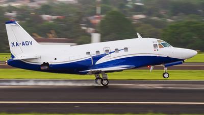 XA-AOV - North American Sabreliner 75A - Private