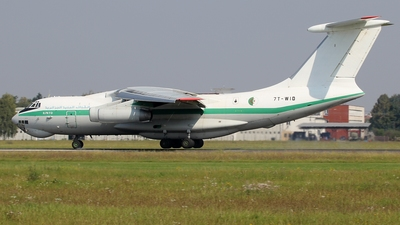 7T-WID - Ilyushin IL-76TD - Algeria - Air Force
