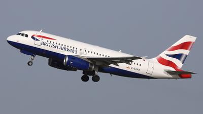 A picture of GEUPZ - Airbus A319131 - British Airways - © Holger Eultgen