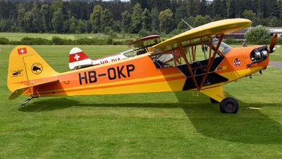 A picture of HBOKP - Piper J3C65 Cub - [12810] - © Mirko Bleuer