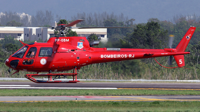 PP-OBM - Helibrás AS-350B3 Esquilo - Brazil - Military Firefighters
