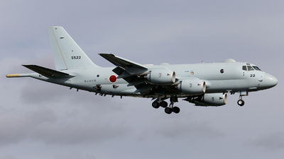 5522 - Kawasaki P-1 - Japan - Maritime Self Defence Force (JMSDF)