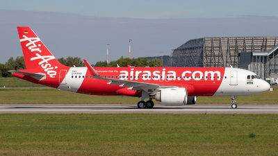D-AXAQ - Airbus A320-251N - AirAsia India