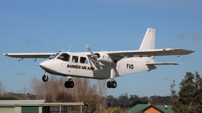 ZK-FVD - Britten-Norman BN-2A-26 Islander - Great Barrier Airlines