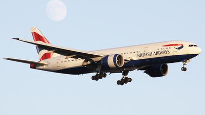 G-VIIH - Boeing 777-236(ER) - British Airways