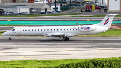 G-CISK - Embraer ERJ-145LU - Eastern Airways