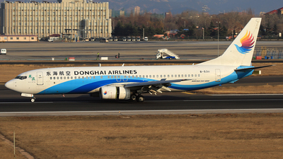 A picture of B5311 - Boeing 7378Q8 - Donghai Airlines - © SEN BAI