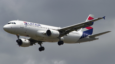 A picture of CCBAZ - Airbus A320214 - LATAM Airlines - © Lucas Sérgio