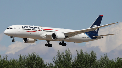 N446AM - Boeing 787-9 Dreamliner - Aeromexico