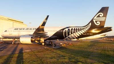 ZK-NHC - Airbus A320-271N - Air New Zealand