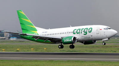 A picture of PKGGC - Boeing 7375U3 - Citilink - © Angga PR