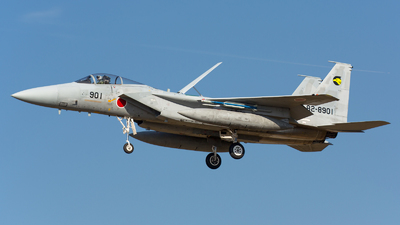 82-8901 - McDonnell Douglas F-15J Eagle - Japan - Air Self Defence Force (JASDF)