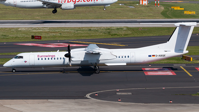 D-ABQE - Bombardier Dash 8-Q402 - Eurowings (LGW Luftfahrtgesellschaft Walter)