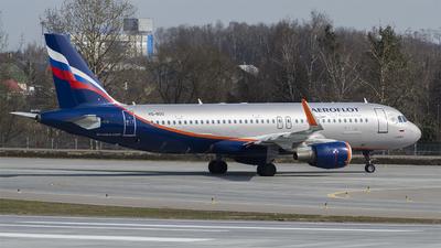 A picture of VQBSU - Airbus A320214 - Aeroflot - © Anton  Ryabov