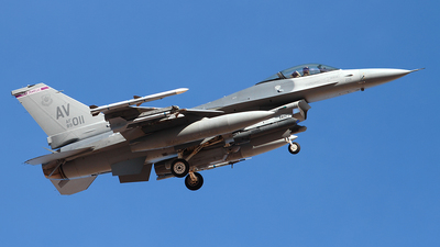 89-2011 - General Dynamics F-16C Fighting Falcon - United States - US Air Force (USAF)
