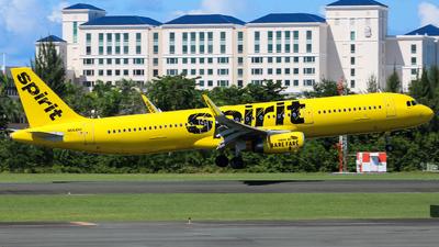 N664NK - Airbus A321-231 - Spirit Airlines